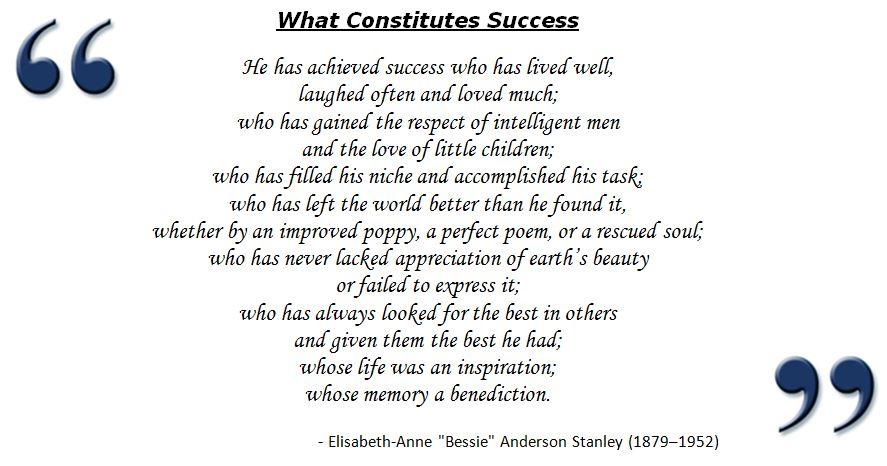 essay on success stories
